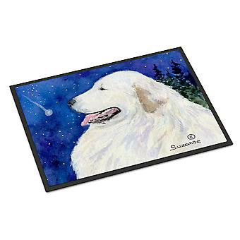 Carolines Treasures  SS8774MAT Great Pyrenees Indoor Outdoor Mat 18x27 Doormat