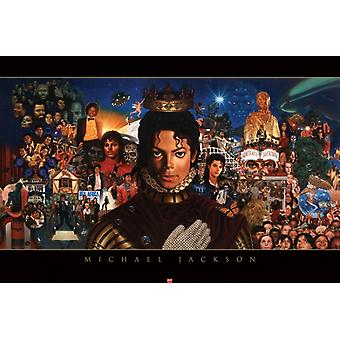 Michael Jackson The King of Pop Poster Print by Kadir Nelson (36 x 24)