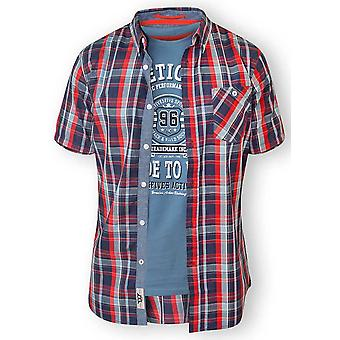 D555 Tall Malcolm T-Shirt & Shirt Combo