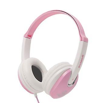 Groov-e Kidz DJ Style Headphone - Pink/White (GV590PW)