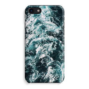 iPhone 8 pełny głowiczki (błyszcząca) - Ocean Fala