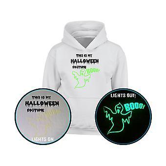 This Is My Halloween Costume GLOW IN THE DARK Kids Hoodie 10 Colours (S-XL) by swagwear