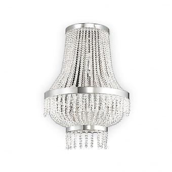 Ideale Lux traditionele Crystal luxe plafondlamp Luster 3