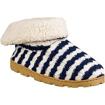 Divaz Womens/Ladies Latvia Micro Fleece Padded Slipper Shoes