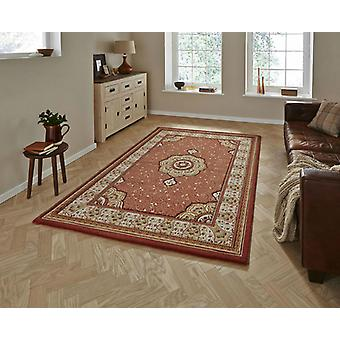 Heritage 4400 Terracotta  Rectangle Rugs Traditional Rugs
