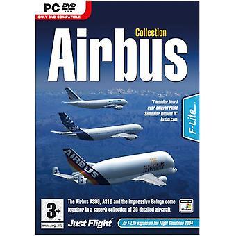 Airbus-kollektion FS 2004FSX (PC DVD)-Fabriksförseglad