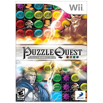 Puzzle Quest Challenge van de warlords (Wii)-fabriek verzegeld