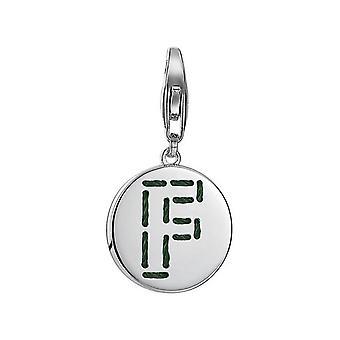 ESPRIT zawieszka charms srebrny list tkaniny F ESCH91128A000