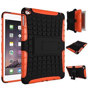 Caso di copertura protettiva esterna ibrido arancione per caso 4 7.9 pollici Mini iPad