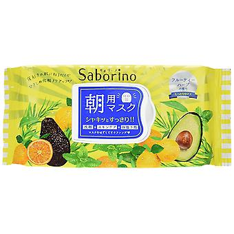 BCL Japan Saborino Morning Care 3-in-1 Face Mask (32 sheets/304ml) Jumbo Pack