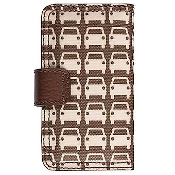 Orla Kiely tournant Folio Case pour Apple iPhone 4/4 s, iPhone 3G/3GS (parking)