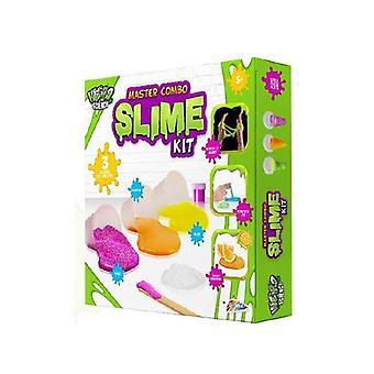 Furcsa tudomány Kid érzékszervi Slime Making Kit Készíts saját Glow illatos goo Lab
