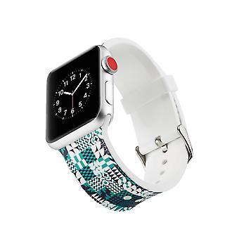 Curea ceas silicon pentru Apple Watch 4 44mm, 3/2/1 42mm-geometrică