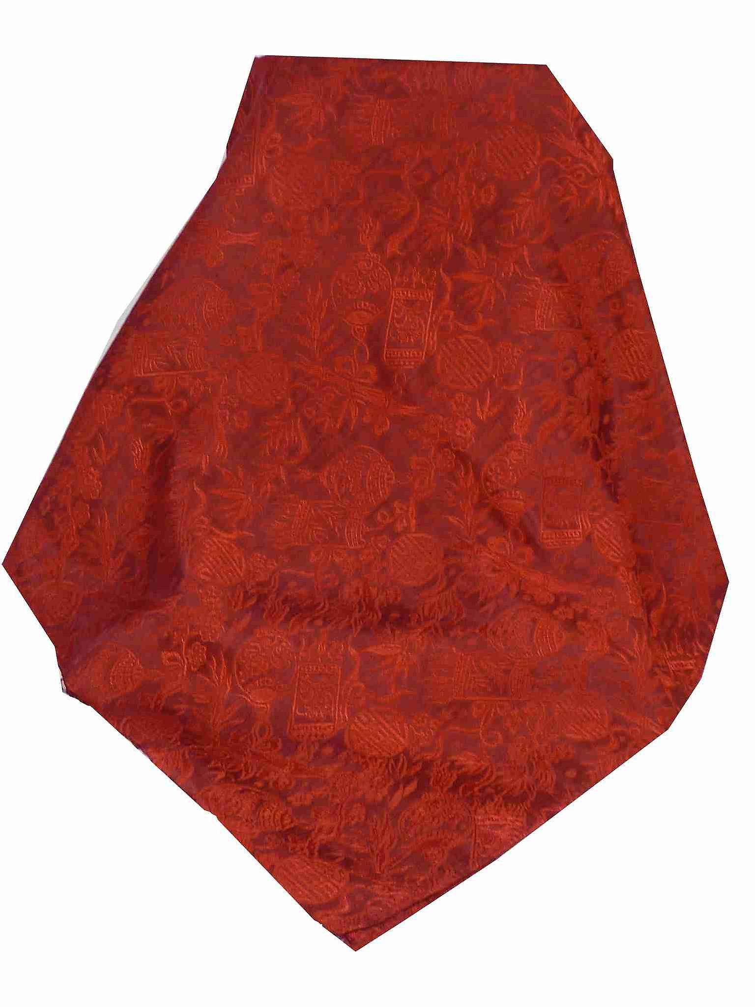 Vietnamese Silk Scarf Reversible Hoi-An Ha-Long Ruby by Pashmina & Silk