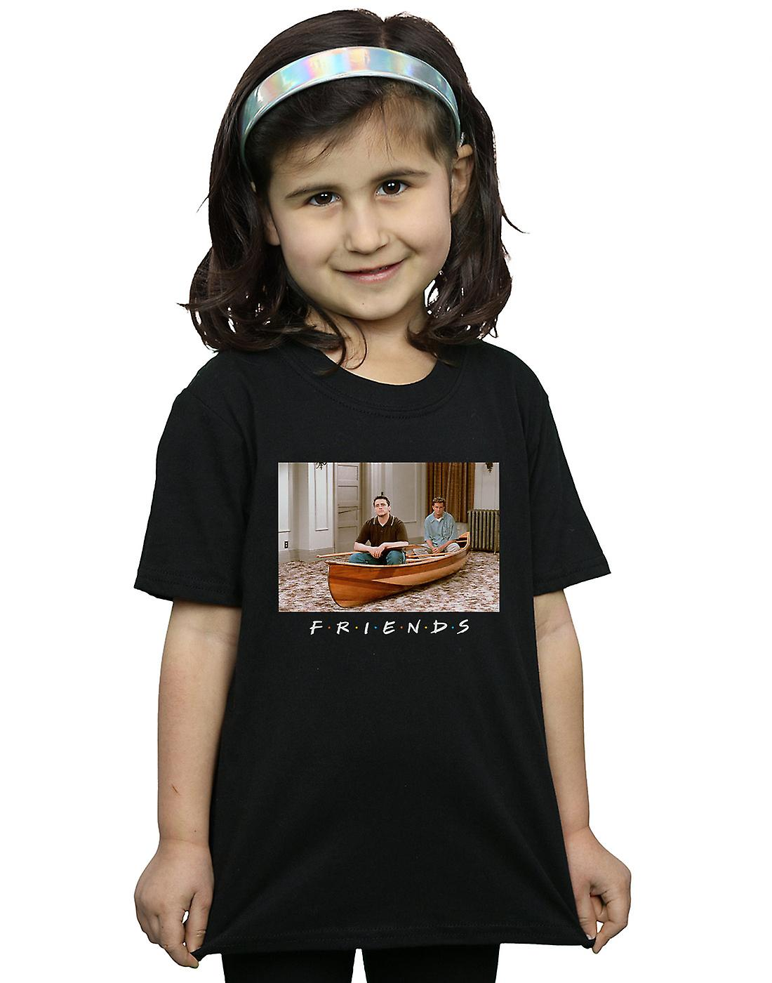 Friends Girls Joey And Chandler Boat T-Shirt