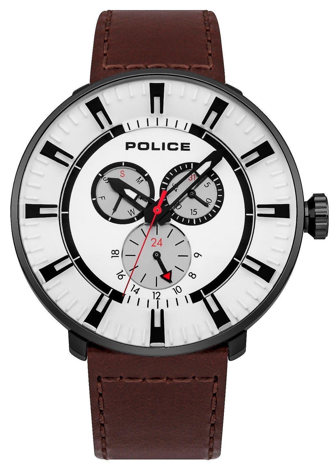 La police Mens Gents Ligue poignet montre 15040XCYB/01