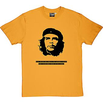 Che Guevara Songs Yellow Men ' s T-paita