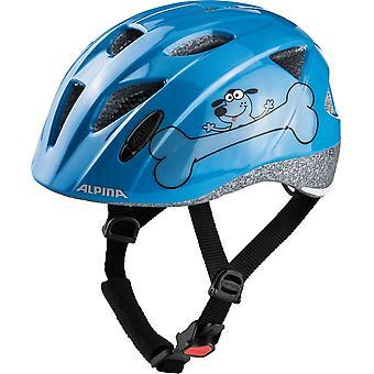 Alpina Ximo child bicycle helmet / / blue dog