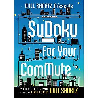 Vil Shortz præsenterer Sudoku for din pendler: 200 udfordrende gåder
