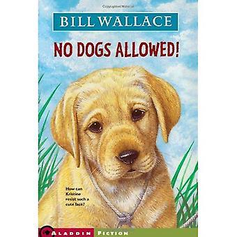Geen honden toegestaan!