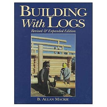 Bâtiment de billes de bois