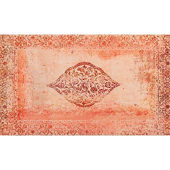 wash + dry mat Vintage Bloom rimless washable rug decor