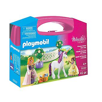 Playmobil 70107 الأميرة يونيكورن التحصيل حقيبة