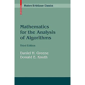 Matematikk for analyse av algoritmer av Greene & Daniel H.