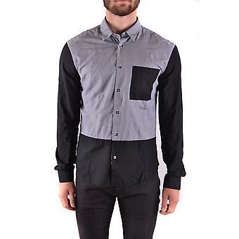 Mcq Door Alexander Mcqueen Ezbc053016 Men's Black Cotton Shirt