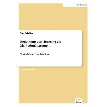 Bedeutung des Licensing als MarketinginstrumentVerdeutlicht an Praxisbeispielen by Schfer & Tim