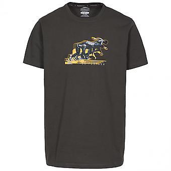 Hausfriedensbruch Mens schnellste schnell trocken Grafik Kurzarm T Shirt