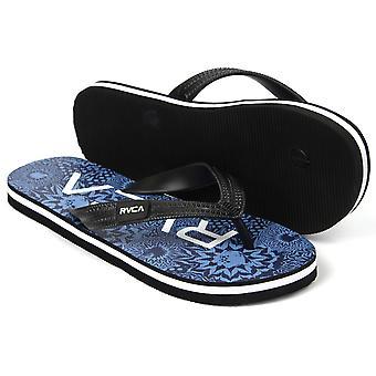 RVCA VA para hombre deporte Trench Town sandalias - azul/negro