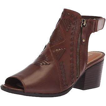 Bare Traps Womens Ivalyn Peep Toe Ankle Fashion Boots