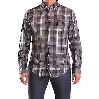 Gant Ezbc144055 Men's Grey Cotton Shirt