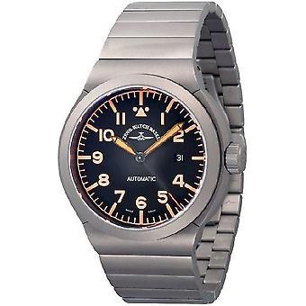 Zeno-watch mens watch RAID titanium Navigator 6454N-a15M