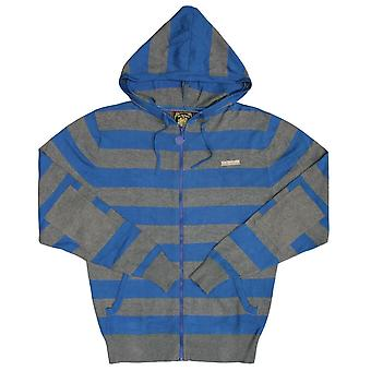 Live Mechanics Hype Stripe Hoodie Strong Blue