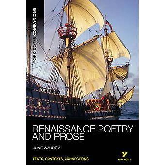 Renaissance Poetry and Prose by June Waudby - 9781408204788 Book