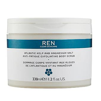 REN Atlantic Kelp and Magnesium Anti-Fatigue Exfoliating Body Scrub 330ml