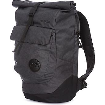 Trespass Mens Rolla Roll Top Zipped Padded Walking Backpack