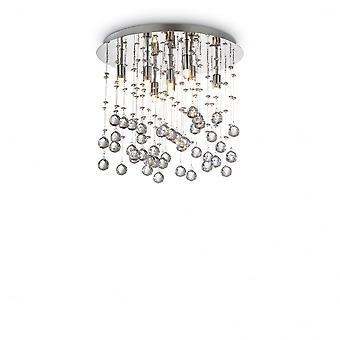 Ihanteellinen Lux Moonlight 8 hehku lampun pinta valo Keilassa kromi