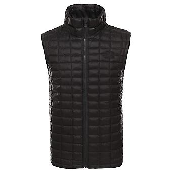De North Face zwarte mens ThermoBall Eco vest