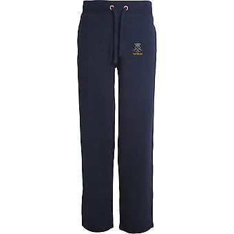 Royal Yeomanry Veteran - lizenzierte britische Armee bestickt offenen Saum Sweatpants / Jogging Bottoms
