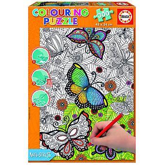 Educa Parti di puzzle 300 colorable Mandala All Good 34 x 48 cm
