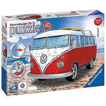Jigsaw 3D VW T1 Campervan by Ravensburger No 12 516 6