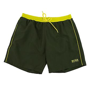 Hugo Boss Starfish Shorts Verde/Amarillo