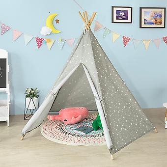 SoBuy Enfants Enfants Play Tente Playhouse Indian Tent Teepee Tent Tepee Tipi 5 Rods,OSS04