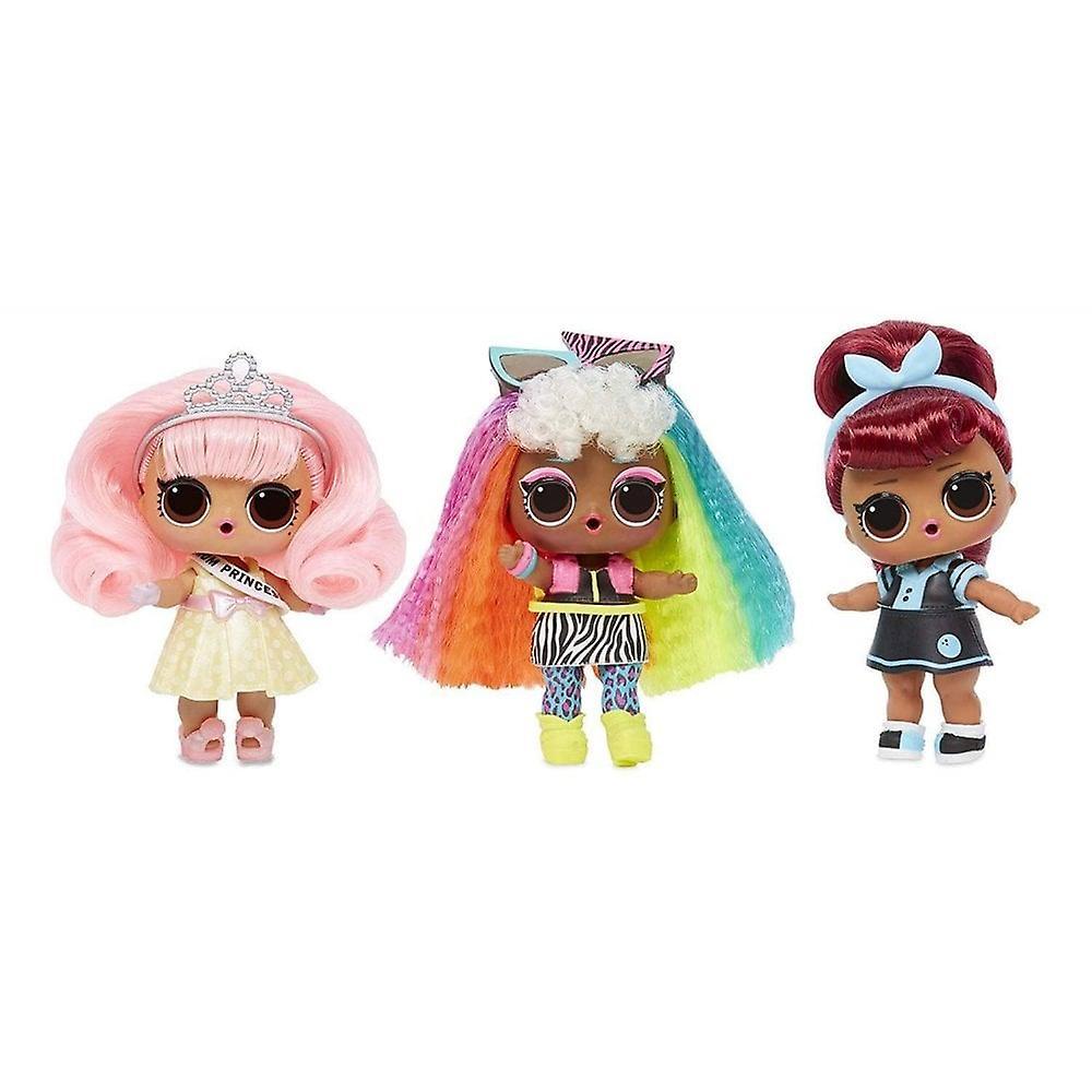 L. O. L överraskning! Hår mål Tots makeover serie 2 Fashion Doll