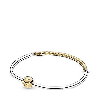 Pandora Bracelet with Gold-Plated Woman Charm - 588143-21
