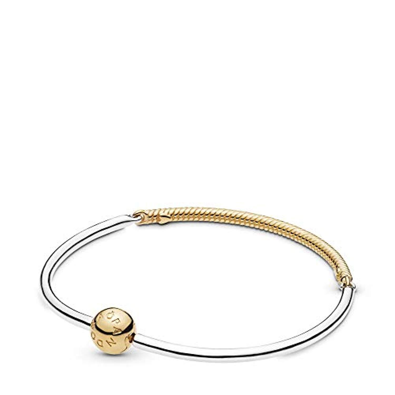 bracelet pandora plaque or