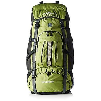 Black Crevice Explorer - Trekking Backpack - 60 l - Green - 75 x 42 x 25 cm - 60 Liter